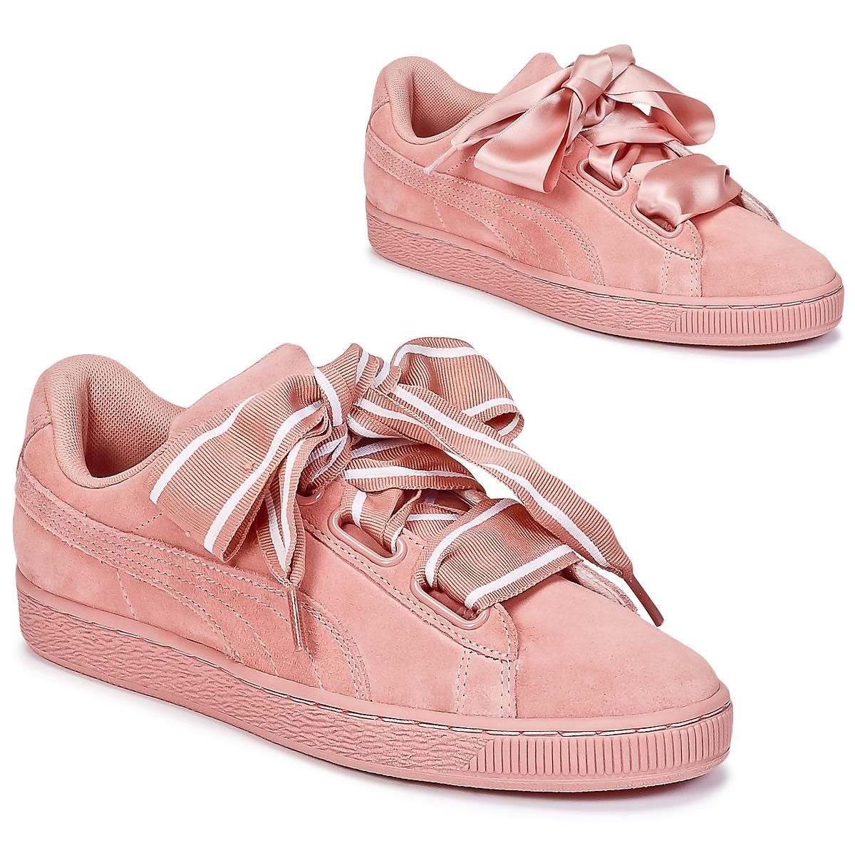 puma heart rosa