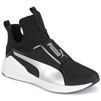 Scarpe Donna Sneakers alte Puma FIERCE core Nero