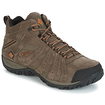 Scarpe Uomo Trekking Columbia REDMOND MID LEATHER OMNI-TECH Taupe