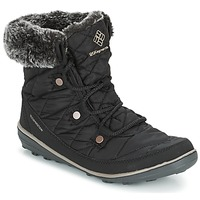Scarpe Donna Stivali da neve Columbia HEAVENLY SHORTY OMNI-HEAT Nero