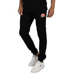 Abbigliamento Uomo Pantaloni da tuta Ellesse Uomo Ovest, Logo Joggers, Nero nero