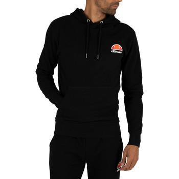 Abbigliamento Uomo Felpe Ellesse Uomo Toce Sinistra Logo con cappuccio, Nero nero