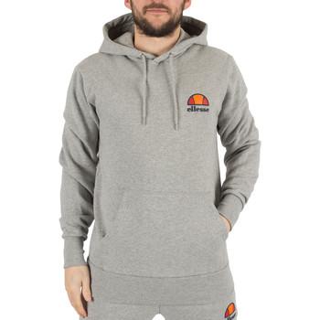 Abbigliamento Uomo Felpe Ellesse Uomo Toce Sinistra Logo con cappuccio, Grigio grigio
