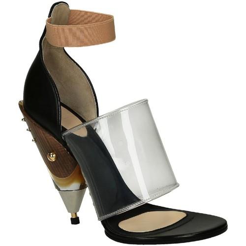 Con Di Nero Vitello In Pelle Givenchy 5xqpfwo Sandali Scarpe Tacco Hxx74f6