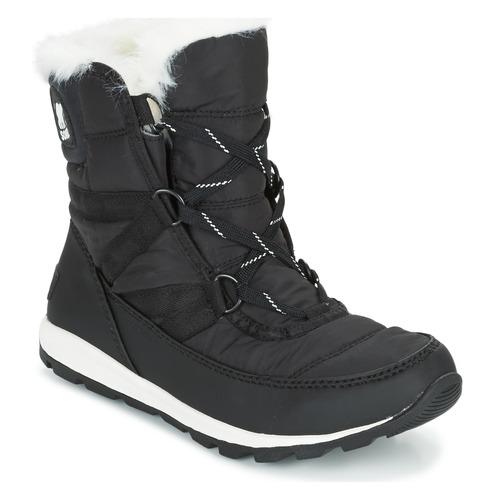 Sorel WHITNEY SHORT LACE Nero  Scarpe Stivali da neve Donna 129,99