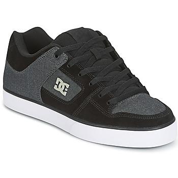 Scarpe Uomo Scarpe da Skate DC Shoes PURE SE Nero / Grigio