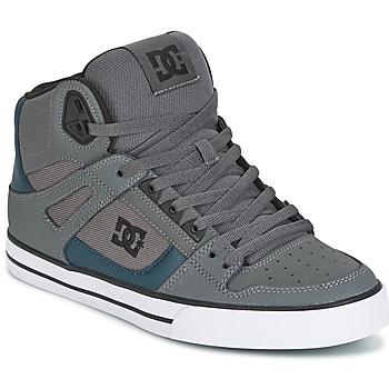 Scarpe Uomo Sneakers alte DC Shoes SPARTAN HIGH WC Grigio / Verde