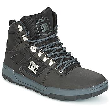 Scarpe Uomo Sneakers alte DC Shoes SPARTAN HIGH WR Nero / Grigio