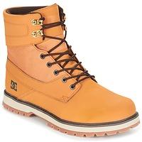 Scarpe Uomo Stivaletti DC Shoes UNCAS M BOOT TBK Beige / Nero / Marrone