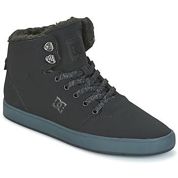 Scarpe Uomo Sneakers alte DC Shoes CRISIS HIGH WNT Nero / Grigio