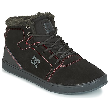 Scarpe Unisex bambino Sneakers alte DC Shoes CRISIS HIGH WNT Nero / Rosso / Bianco