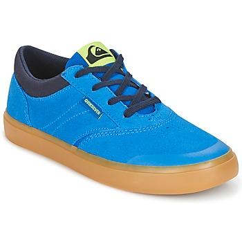 Scarpe Bambino Sneakers alte Quiksilver BURC YOUTH B SHOE XBCB Blu / Marrone