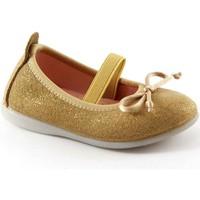 Scarpe Bambino Ballerine Gioseppo SYLVIE 39613 oro scarpe bambina ballerine elastico Oro