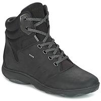 Scarpe Donna Sneakers alte Geox D NEBULA 4 X 4 B ABX Nero