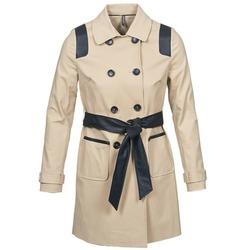 Abbigliamento Donna Trench Naf Naf BARTABA Beige / Nero
