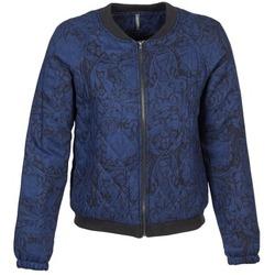 Abbigliamento Donna Giubbotti Naf Naf LORRICE Blu