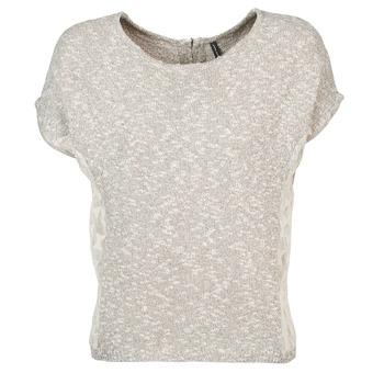 Abbigliamento Donna T-shirt maniche corte Naf Naf MILLON Grigio