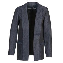 Abbigliamento Donna Giacche / Blazer Naf Naf ELYO Marine