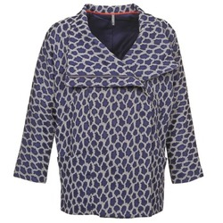 Abbigliamento Donna Cappotti Naf Naf ADARMELA MARINE
