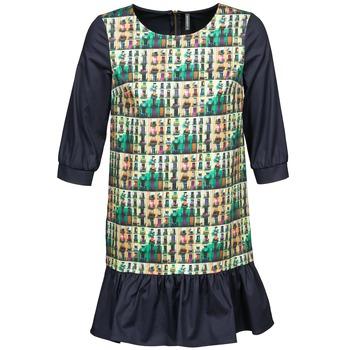 Abbigliamento Donna Abiti corti Naf Naf ECAPS Nero / Multicolore