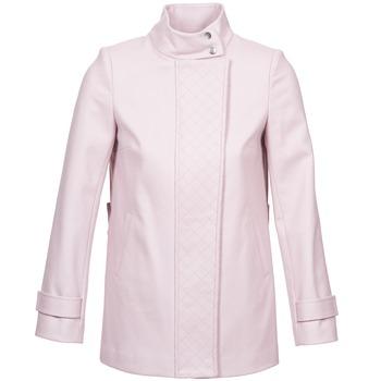 Abbigliamento Donna Cappotti Naf Naf ACORA Rosa