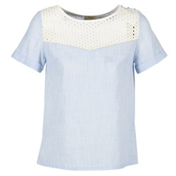 Abbigliamento Donna Top / Blusa Betty London GERMA Bianco / Blu