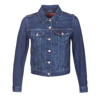 Abbigliamento Donna Giacche in jeans Levi's ORIGINAL TRUCKER Blu / JEAN