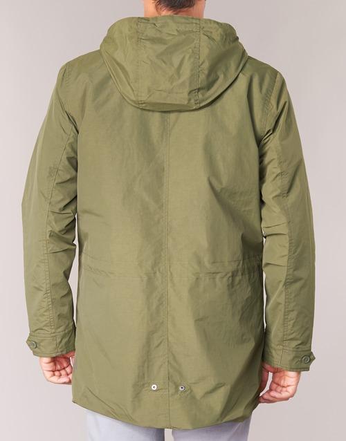Levi's 9950 Abbigliamento Parka 3 Fishtail Kaki Gratuita in 1 Consegna Uomo wZukXOiPT