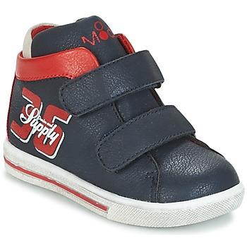 Scarpe Bambino Sneakers alte Mod'8 STARIUS Marine / Rosso