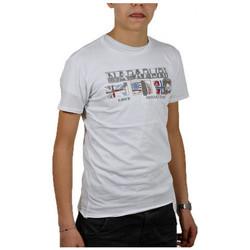 Abbigliamento Bambino T-shirt maniche corte Napapijri k sarvada T-shirt multicolore