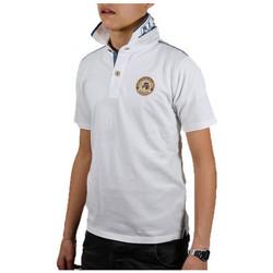 Abbigliamento Unisex bambino Polo maniche corte Napapijri kelmontePolo bianco