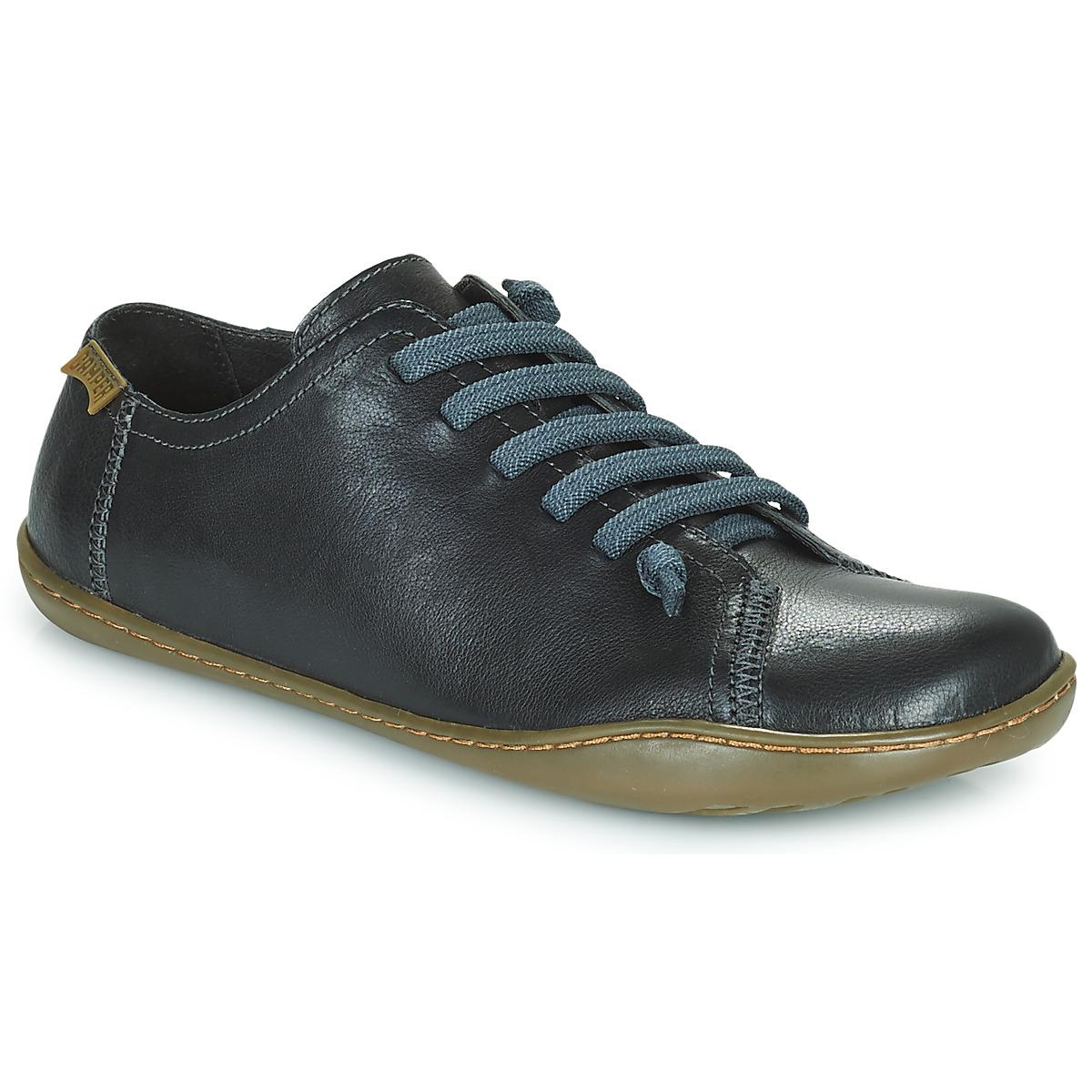 camper peu cami nero consegna gratuita con scarpe derby donna 130 50. Black Bedroom Furniture Sets. Home Design Ideas