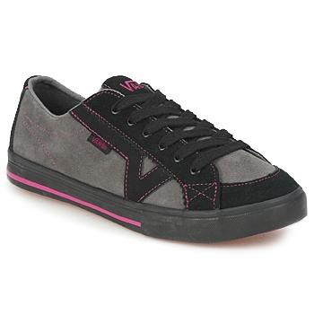 Scarpe Donna Scarpe da Skate Vans TORY Nero / Grigio / Rosa