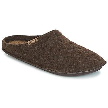 Scarpe Pantofole Crocs CLASSIC SLIPPER Marrone