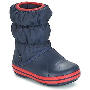 Scarpe Bambino Stivali da pioggia Crocs WINTER PUFF BOOT KIDS MARINE