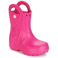 Scarpe Bambina Stivali da pioggia Crocs HANDLE IT RAIN BOOT Rosa