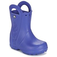 Scarpe Bambino Stivali da pioggia Crocs HANDLE IT RAIN BOOT Blu