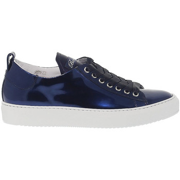Scarpe Donna Sneakers basse Barracuda Sneakers  in pelle blu