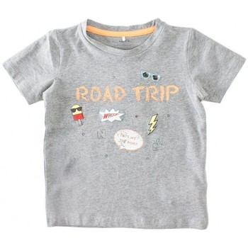Abbigliamento Unisex bambino T-shirt maniche corte Name It Kids Nitegon grey T-Shirt Multicolor