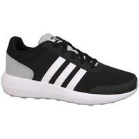 Scarpe Bambino Running / Trail adidas Originals Cblackftwwhtnix Cloudfoam Race Nero-Bianco