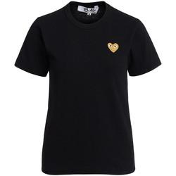 Abbigliamento Donna T-shirt & Polo Comme Des Garcons T-shirt  girocollo nera Nero