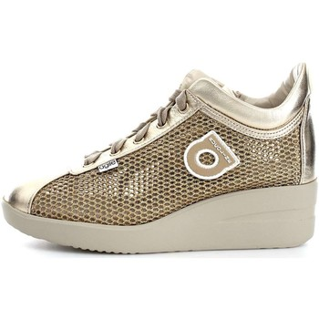 Scarpe Donna Sneakers basse Agile By Ruco Line 0226-82983 Sneakers Donna Pelle/Tessuto Giallo/Oro