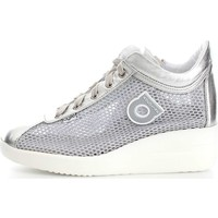 Scarpe Donna Sneakers basse Agile By Ruco Line 0226-82983 Sneakers Donna Pelle/Tessuto Grigio