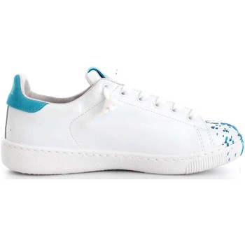 Scarpe Donna Sneakers basse 2 Stars 2SD1463 Sneakers Donna Pelle  Bianco/Turchese Turchese