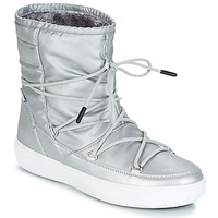 Scarpe Donna Stivaletti Moon Boot MOON BOOT PULSE NYLON PLUS WP Argento