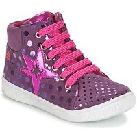 Scarpe Bambina Sneakers alte Agatha Ruiz de la Prada FLOW Viola