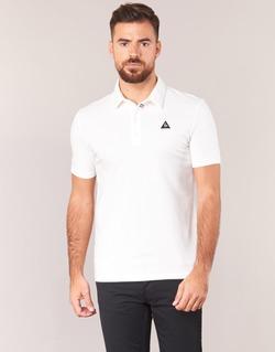 Abbigliamento Uomo Polo maniche corte Le Coq Sportif LCS TECH POLO Bianco