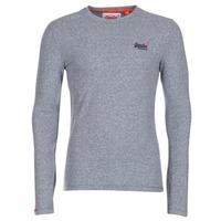 Abbigliamento Uomo T-shirts a maniche lunghe Superdry ORANGE LABEL VINTAGE Grigio