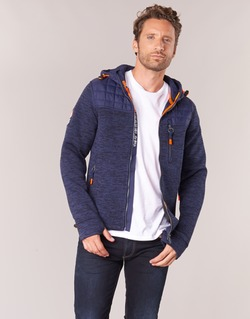 Abbigliamento Uomo Felpe Superdry MOUNTAIN QUILTED SHERPA Marine