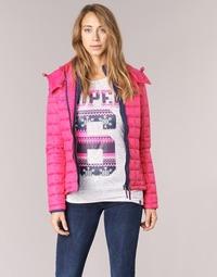 Abbigliamento Donna Piumini Superdry FUJI BOX QUILTED Rosa
